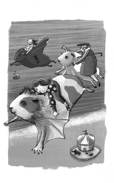 De vliegende cavia | Doesjka Bramlage
