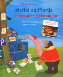 Moffel en Piertje en het grote taalavontuur | illustratie doesjka bramlage