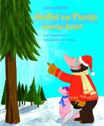 Moffel en Piertje vieren kerst | Illustratie Doesjka Bramlage