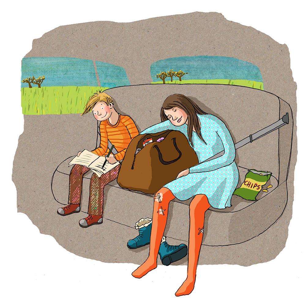 illustraties kinderboeken | Doesjka Bramlage